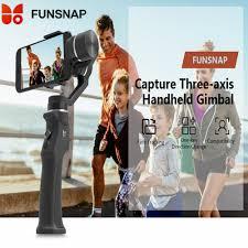 Funsnap Capture <b>3 Axis</b> Handheld Gimbal <b>Stabilizer</b> For ...