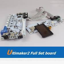UM2 Ultimaker <b>3D</b> Printer Machine <b>Full Set</b> Main Board LCD Display ...