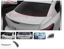 <b>Спойлер на кромку багажника</b> Mazda 3 BL SD 2009 - GT и тюнинг ...