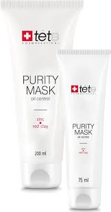 TETe Cosmeceutical Purity Mask Oil Control Zinc and Red Clay ...