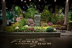view in gallery expert lighting for blue ribbon winner garden show entry area lighting flower bed