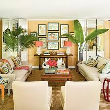 tropical living rooms: tropical living room sofa inward facing  chairs