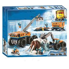 <b>New City Set Arctic</b> Exploration Mobile Base Compatible With City ...