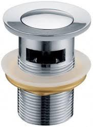 <b>Донный клапан</b> для раковины <b>Kaiser</b> 8035 хром - ДОННЫЕ ...