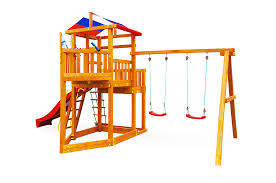 "<b>Детская игровая</b> деревянная <b>площадка</b>-корабль <b>Самсон</b> ""Ассоль"""