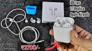 <b>i80 tws</b> Airpods //1:1 Replica Airpods unboxing & Review - YouTube