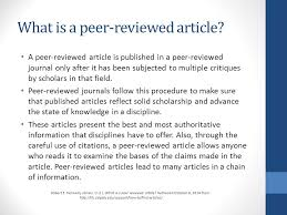How to Identify Peer Reviewed  Scholarly  amp  Academic Articles