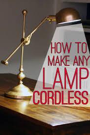 <b>Lamp</b> Hack: How to Make Any <b>Lamp</b> Cordless - * View Along the ...