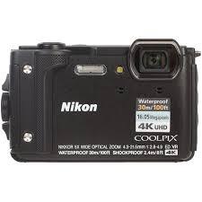 VQA070E1 <b>Фотоаппарат Nikon CoolPix W300</b> черный 16Mpix ...