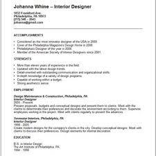 sample curriculum vitae manager service resume branch example resume example for interior designer at 42essays com eu pic top interior design schools