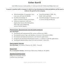 resume java developer resumes  seangarrette cosample java web developer resume java developer   resume java developer resumes