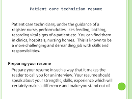patient care technician resume sample job and resume pharmacy technician resume sample patient care technician skills resume