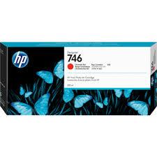 <b>HP 746 Chromatic</b> Red Ink Cartridge for <b>DesignJet</b> Z6/Z9+ (300mL ...