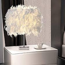 LED Crystal Feather Table Lamp <b>Creative Home</b> Decor Bedside ...