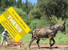 WP     DIY Thesis Theme for WordPress is an SEO Mule Thesis     Pulls Like a Corn Fed Mule