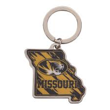 Missouri Oval <b>Tiger Head Key Chain</b> – <b>Tiger</b> Team Store
