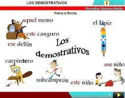Image result for LOS DEMOSTRATIVOS