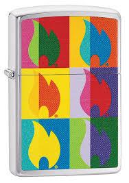 <b>Зажигалка Abstract Flame</b> Design ZIPPO 29623 купить оптом в ...