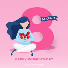 Free Vector   <b>Happy women's day</b>