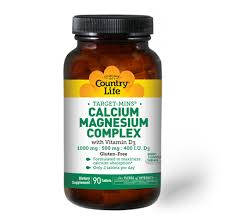 <b>Calcium Magnesium Complex with</b> Vitamin D3 (90 tablets) - Country ...