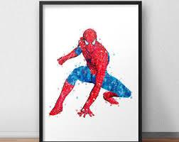 <b>Spiderman print</b> | Etsy
