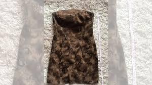 <b>Мини платье без бретелек</b> коричневое 44-46 купить в Самарской ...