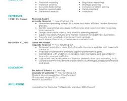 breakupus fascinating professional resume templates for college breakupus licious simple accounting amp finance resume examples livecareer alluring create my resume and mesmerizing