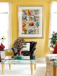 Yellow Living Room Decorating Rooms Viewer Hgtv