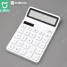 XIAOMI Youpin Kaco Lemo Calculator Smart LCD Display ...