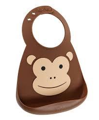 <b>Нагрудник</b> силиконовый <b>Make My</b> Day Monkey: купить в интернет ...