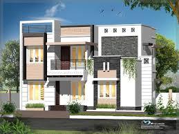 Contemporary Style House Elevation   Kerala Model Home PlansContemporary Style Elevations featured