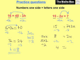 solving simple linear equations practice questions and answers solving simple linear equations practice questions and answers