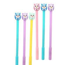 WIN-MARKET Animals <b>Bird Owl</b> Gel Pens Set Fashion <b>Cute</b> Colorful ...