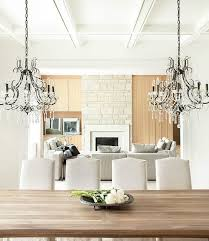 real rustic kitchen table long: rustic elegant dining table  dining room country style wooden table chandelier elegant chairs