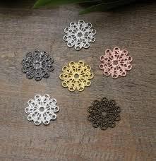 2019 15mm Antique Bronze/<b>Silver</b>/Rose <b>Gold</b>/<b>Gun Black Copper</b> ...