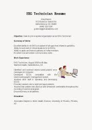 ekg resume objective resume for technician ekg technician resume resume samples ekg technician resume sample