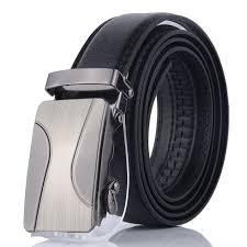 <b>Rainie sean</b> men leather <b>belt</b> black automatic buckle leather <b>belt</b> ...