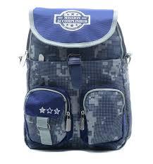 <b>Ранец Proff Military</b>, цвет: синий, артикул: MI16-BP-15-01 - купить ...