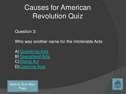 causes for american revolutioncauses for american revolution