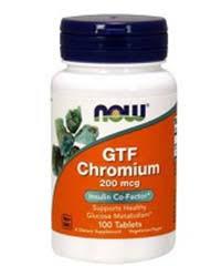 <b>Хром</b> (<b>GTF</b> Chromium) — Снижает уровень сахара в крови