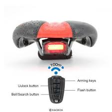 Novel Durable <b>USB Charging</b> Diamand Shape LED <b>Bike Tail Light</b> ...