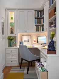 traditional home office by transform the art of custom storage basement home office