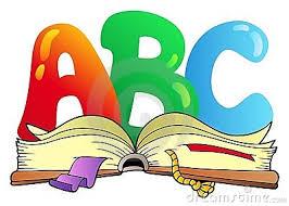 Resultado de imagem para desenho de letras infantil