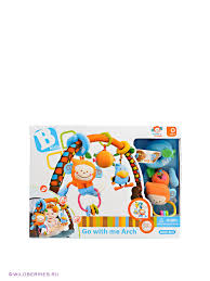 "Развивающая <b>дуга</b> на <b>коляску</b> ""Биби и друзья"" BKIDS 438615 в ..."