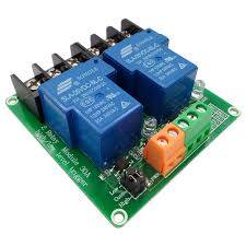 two <b>2 channel relay</b> module 30A with optocoupler isolation <b>5V</b> 12V ...