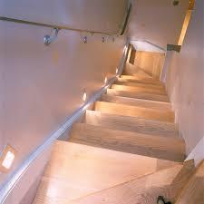 oslo led floor washer on basement stairs basement stairway lighting