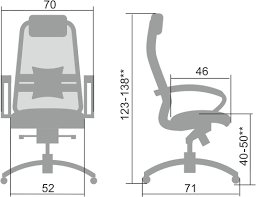 Купить эргономичное <b>кресло</b> нового поколения <b>Samurai</b> S-1.04.