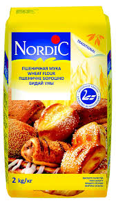 Купить <b>Мука пшеничная Nordic</b> высший сорт, <b>2</b> кг с доставкой по ...