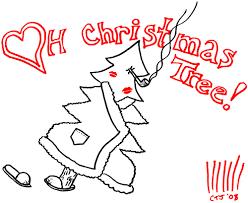 original christmas card   three christmas trees essay by  my friend elizabeth wrote three short essays about christmas