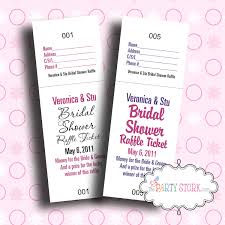 bridal shower raffle tickets shower game personalized 128270zoom